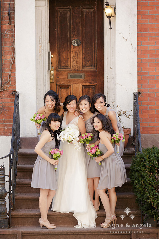 new york wedding bridesmaids